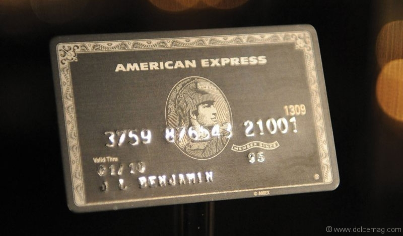 American Express Black Card: By Invitation Only | Dolce Luxury Magazine
