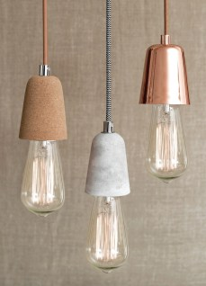 Concrete pendant light - http://recycledinteriors.org/inspiration-2/trends/