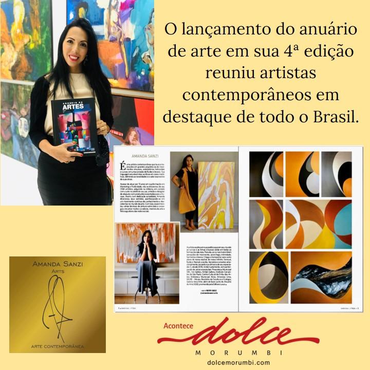 O lançamento do Anuário de Arte em sua 4ª edição reuniu artistas contemporâneos em destaque de todo o Brasil.