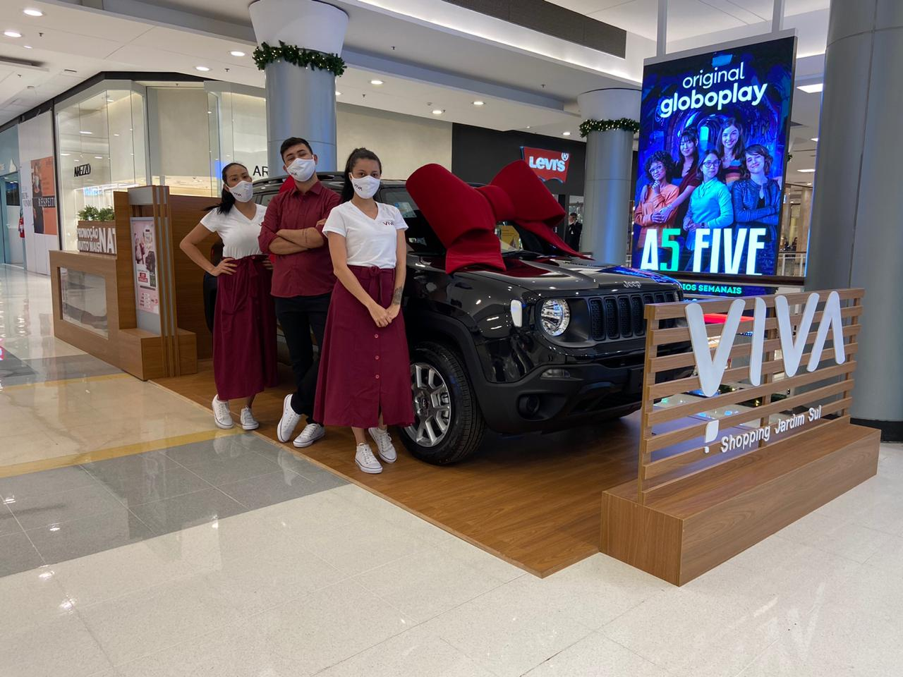Promoção de Natal Shopping Jardim Sul