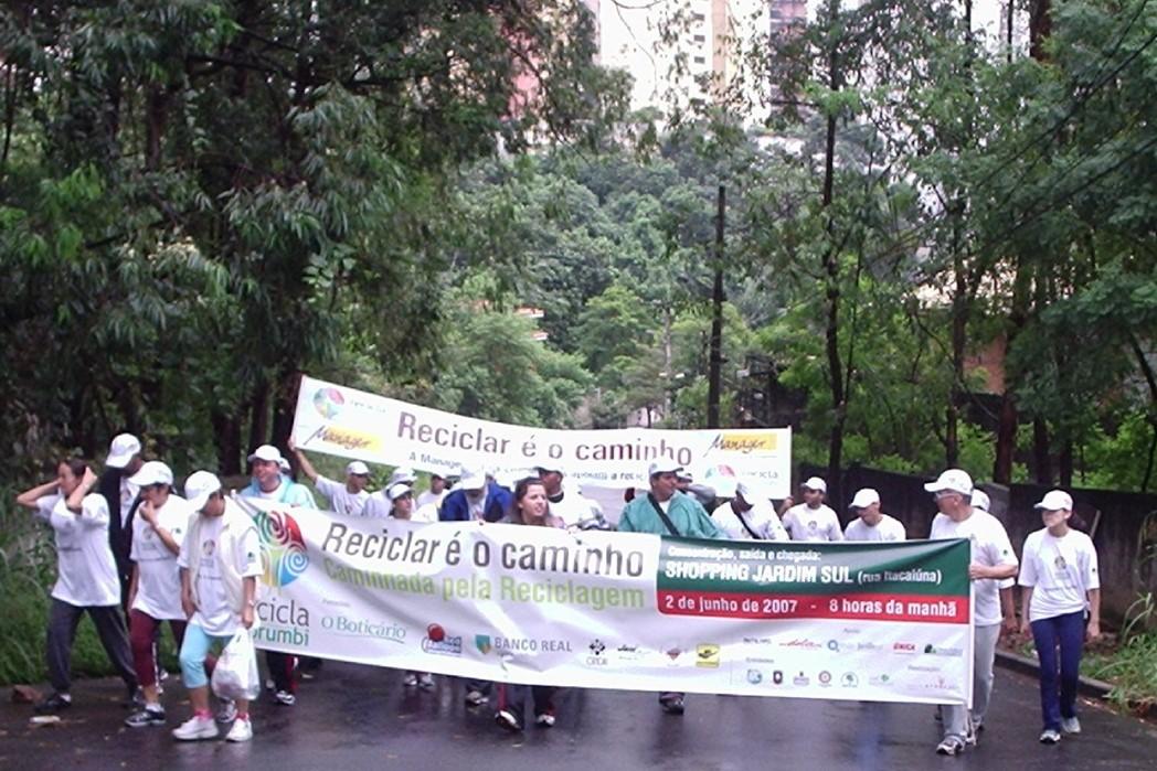 Recicla Morumbi - Caminhada de mobilização dos moradores