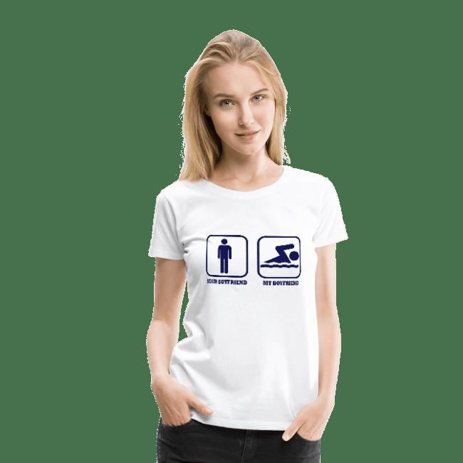 maglietta fidanzato nuotatore