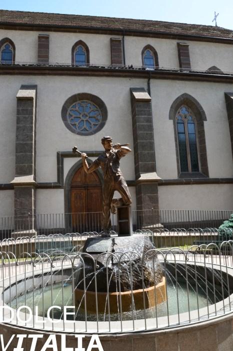 Predazzo fountain