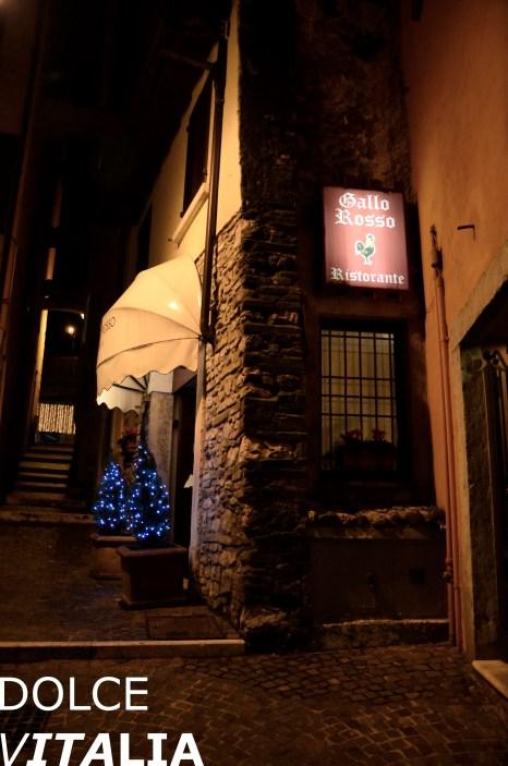 Gallo Rosso Ristorante, Vicolo Tomacelli, Salò