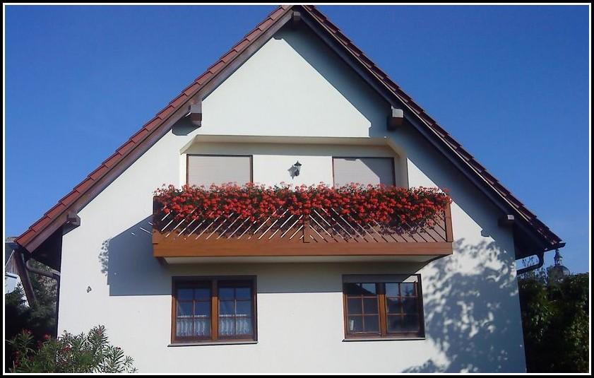 Balkon Kunststoff Geländer