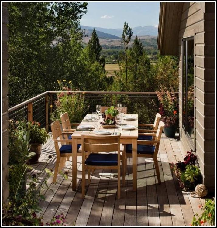 Handlauf Balkon Holz