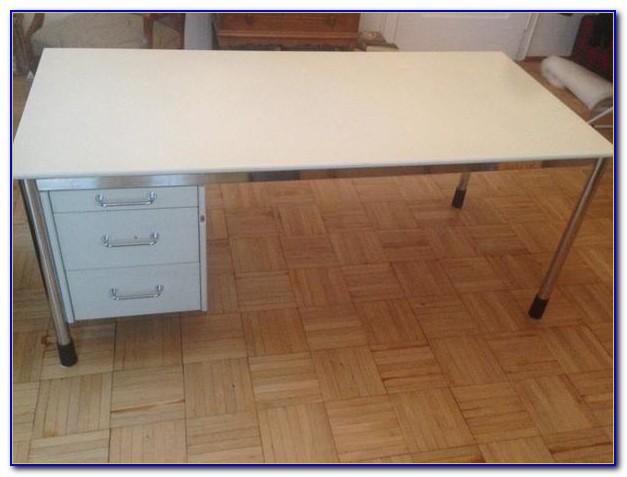 Ikea Effektiv Schreibtisch Aufbauanleitung