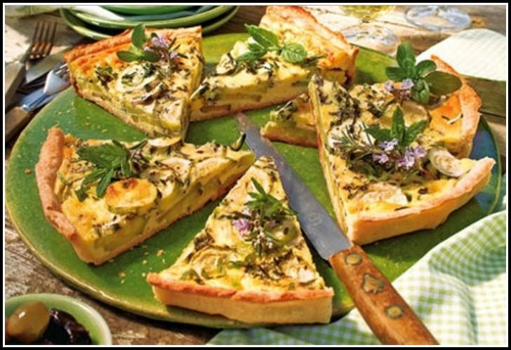 Rezept Herzhafter Kuchen Vegan
