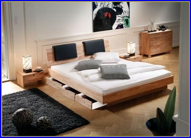 Schlafzimmer Bett Mit Bettkasten