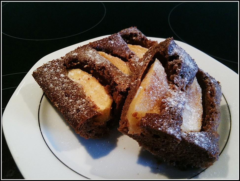 Schoko Apfel Kuchen Vom Blech
