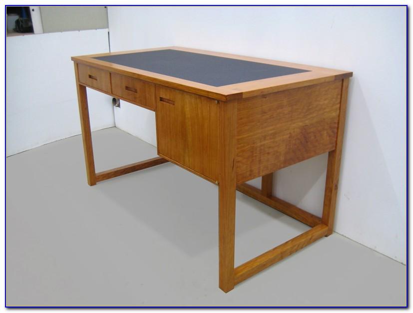 Schreibtisch Kirschbaum Antik