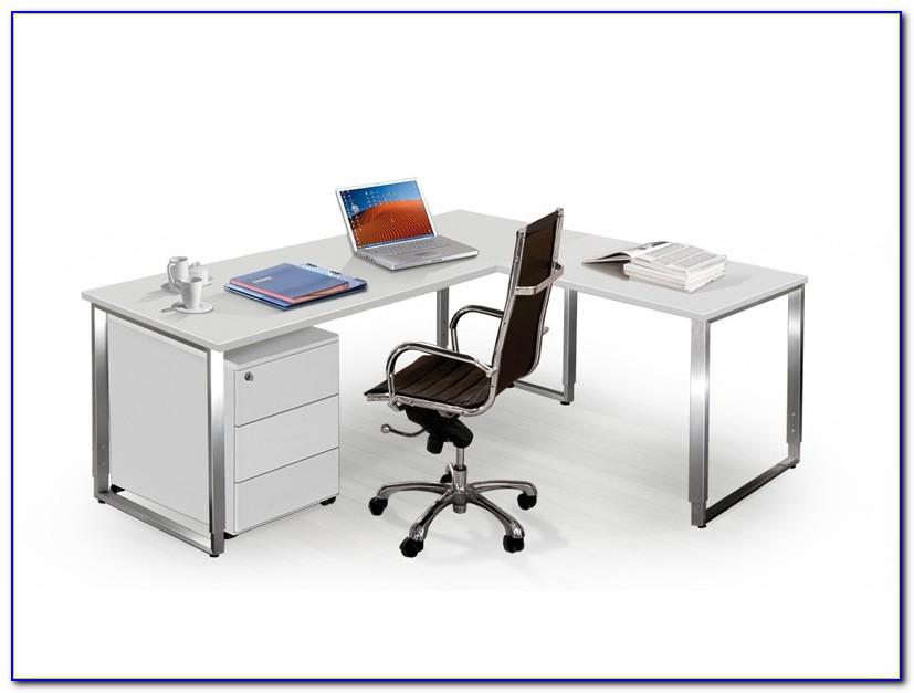 Schreibtisch L Form Holz