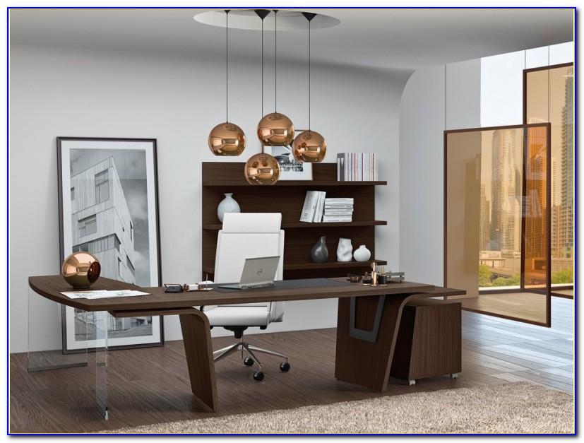 Schreibtisch Modern Massivholz