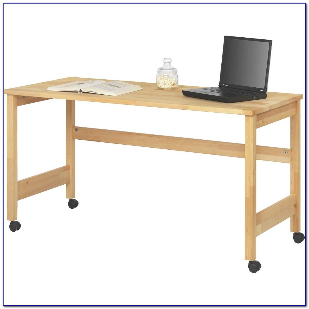 Schreibtisch Schmal Buche