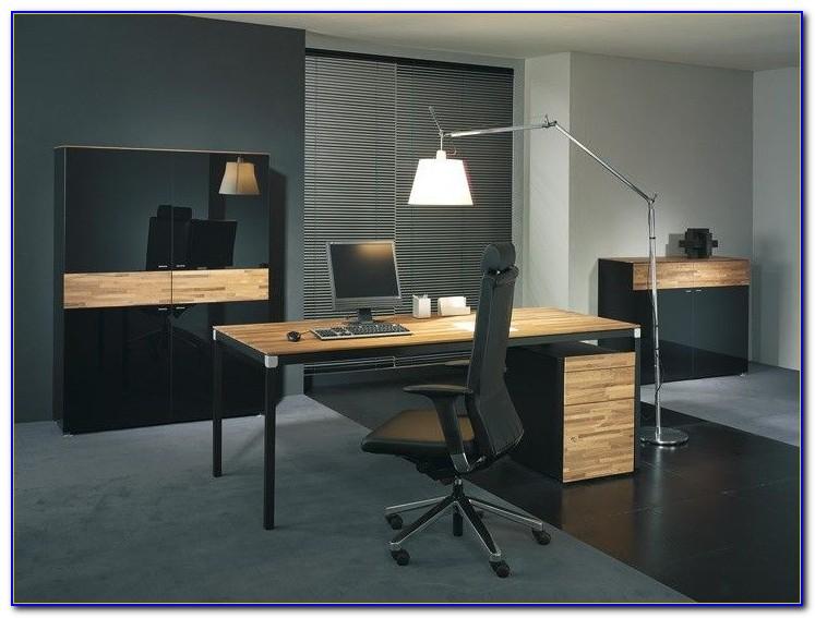Schreibtisch Schwarz Weiß