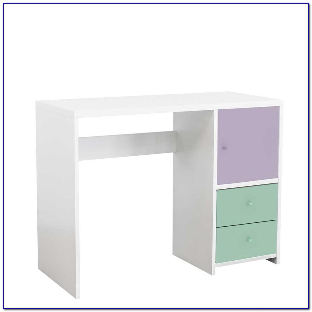 Schreibtisch Weiß 100 Cm Breit