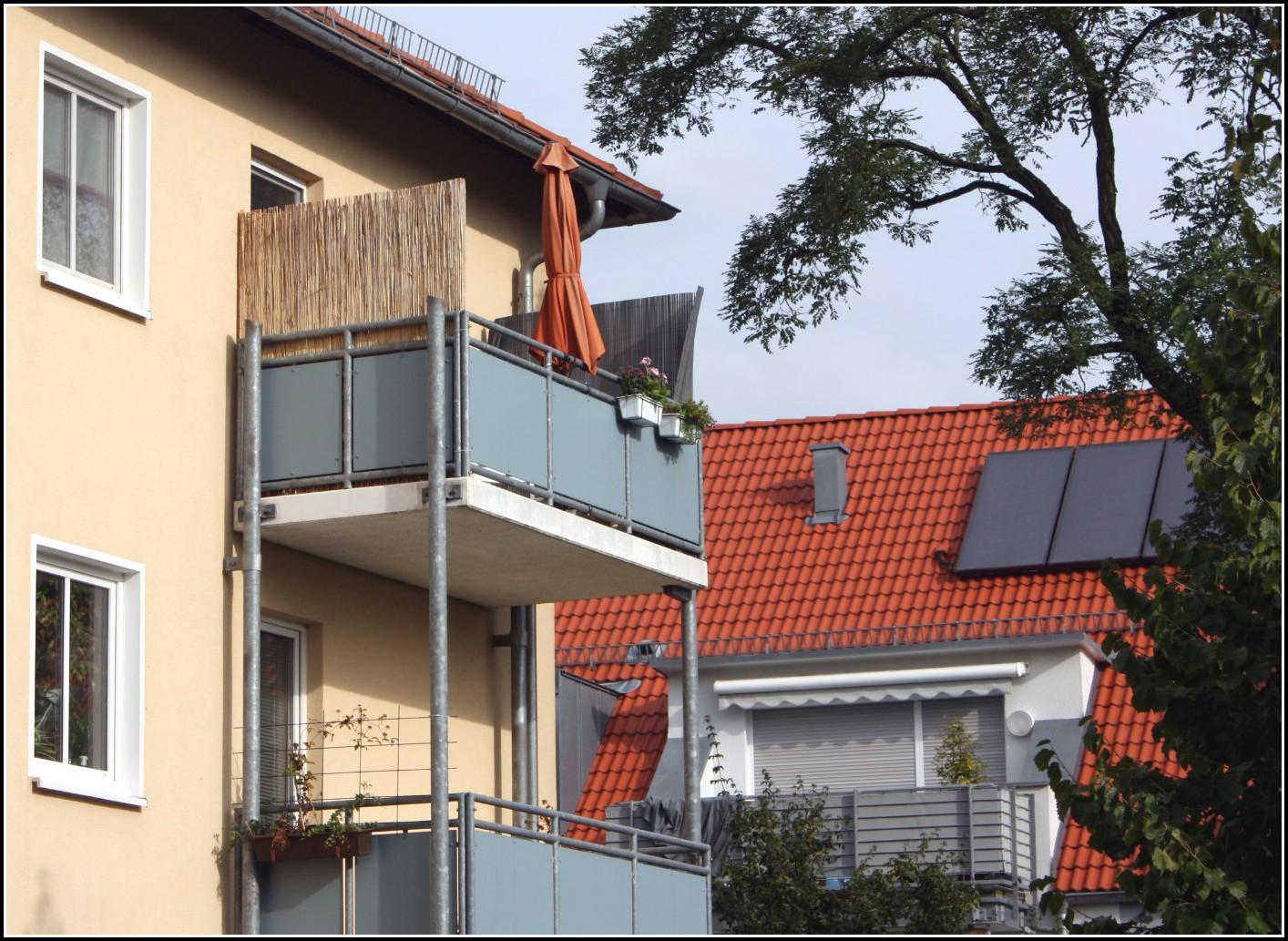 Seiten Sichtschutz Balkon Ohne Bohren