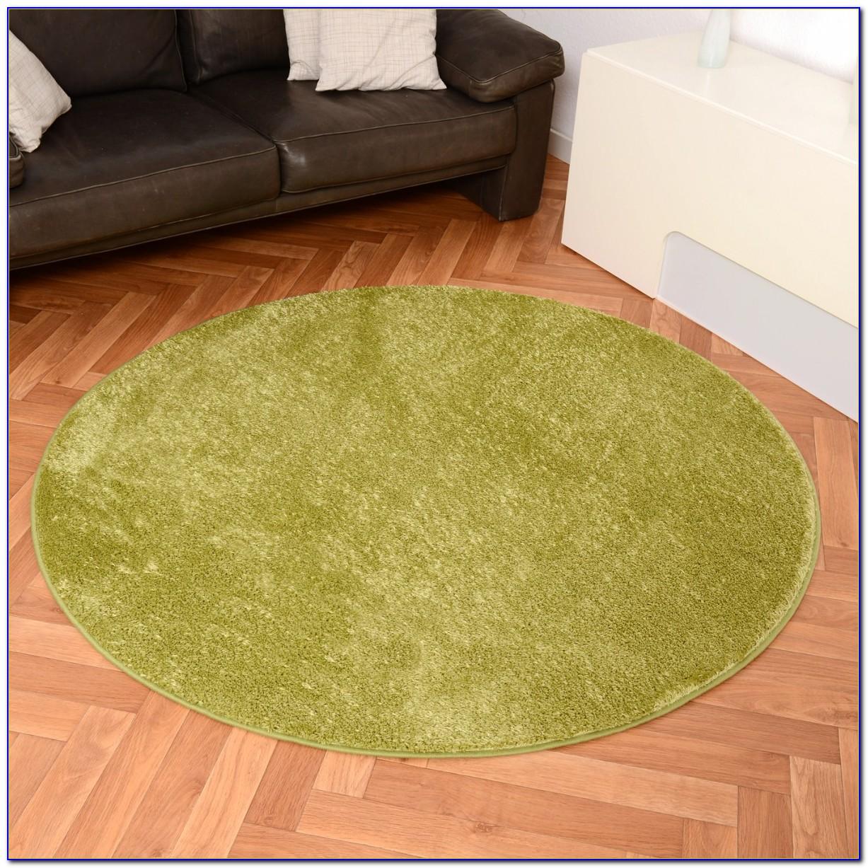 Teppiche Grün Rund