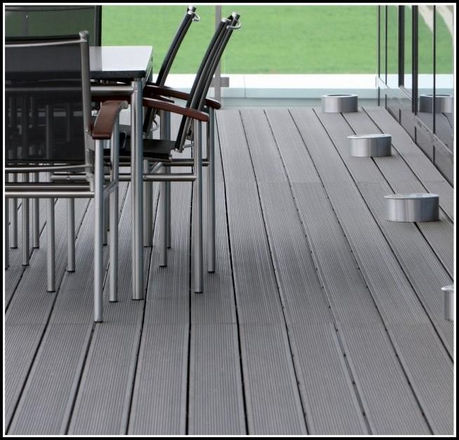 Terrassen Bodenbelag Kunststoff Holz