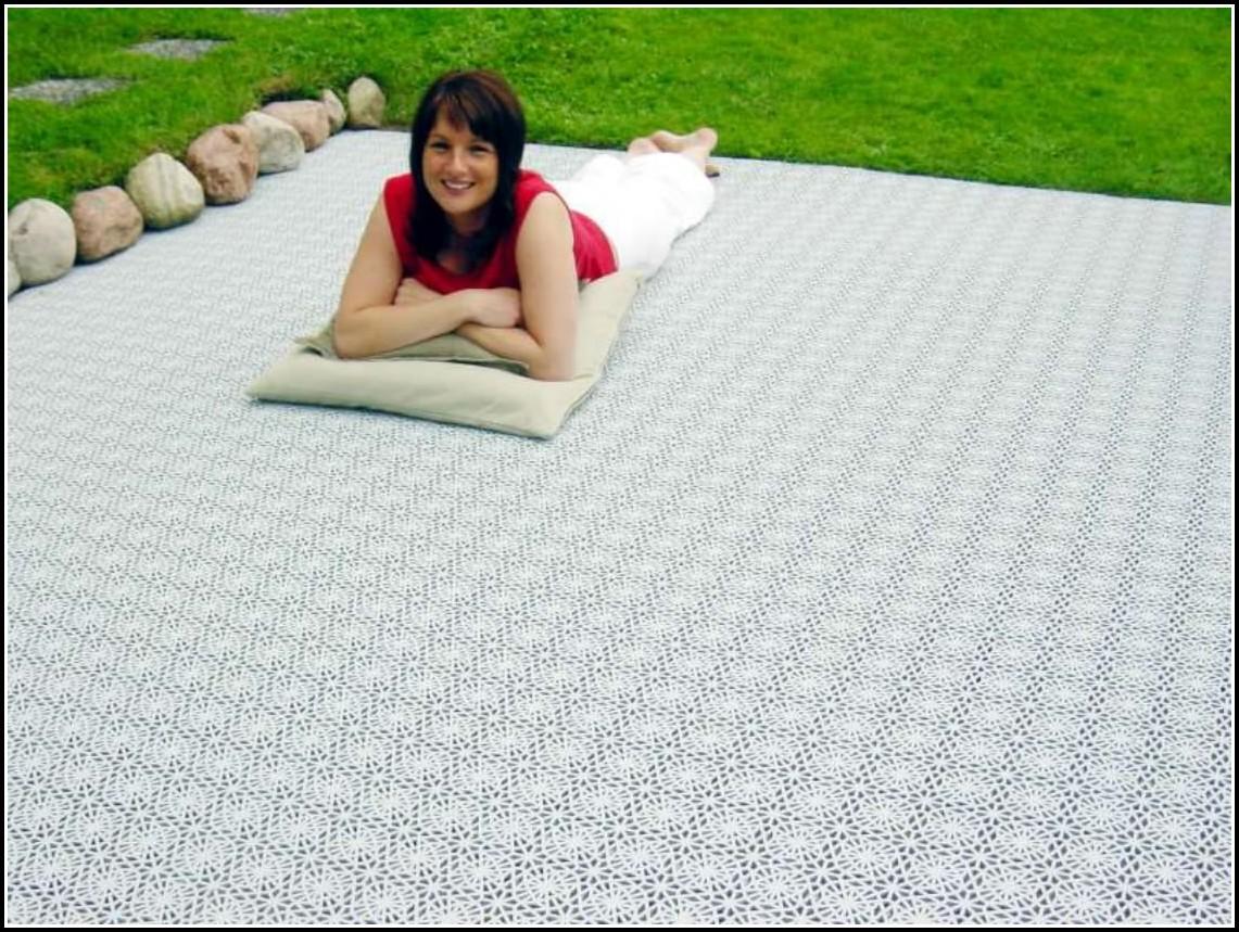 Terrassen Bodenbelag Kunststoff