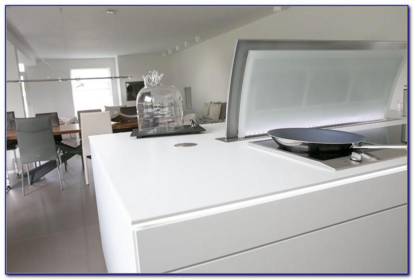 Weiße Arbeitsplatte Küche