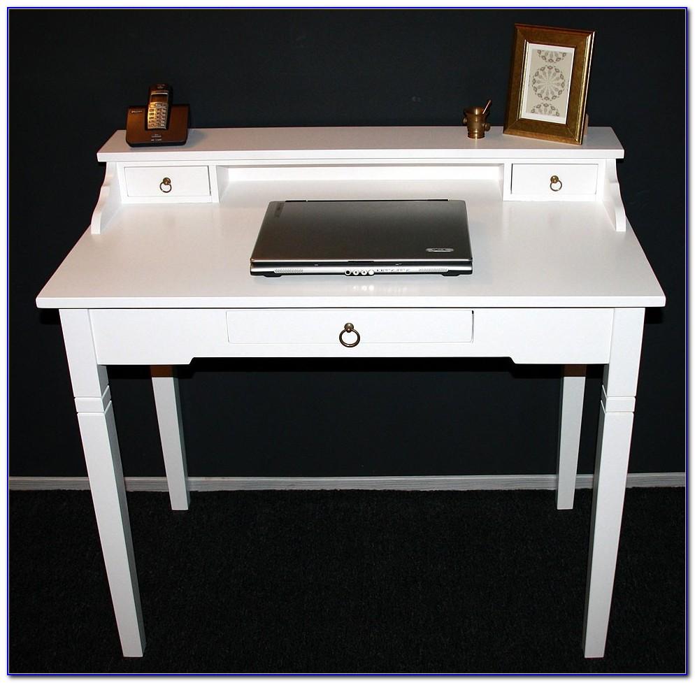 Weißer Schreibtischstuhl