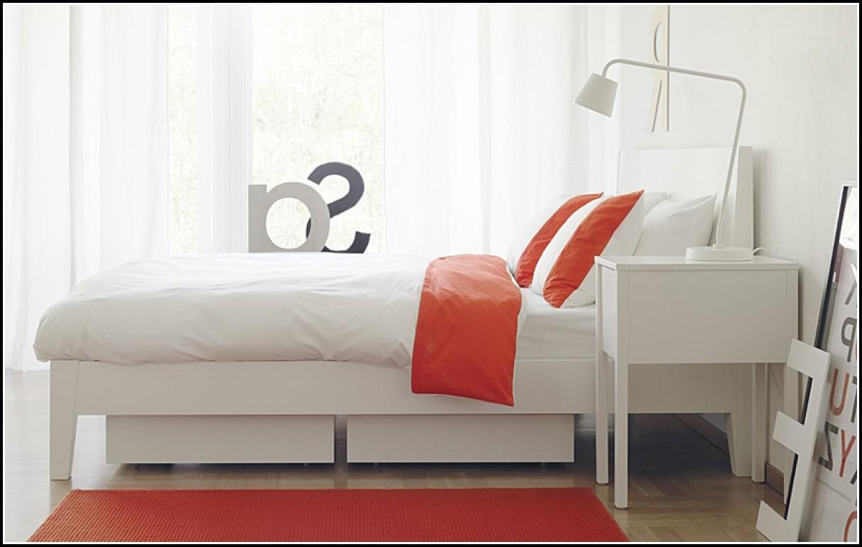 Weißes Bett Ikea