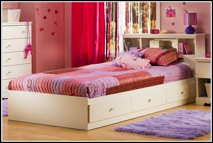 Weißes Bett Mit Schublade