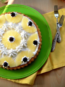 Crostata all'ananas facile e veloce