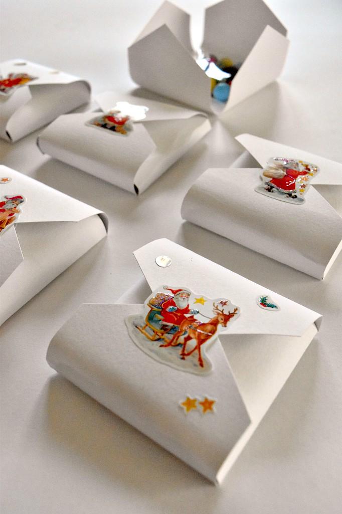 Segnaposti natalizi per i bambini
