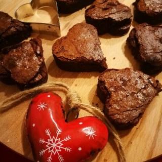 brownies di san Valentino