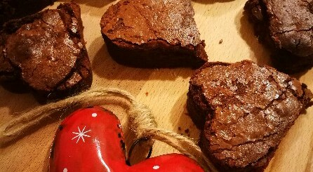 brownies di san Valentino