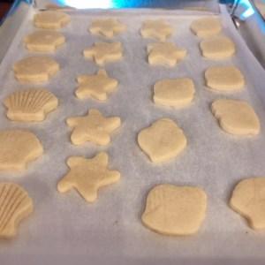 Biscotti decorati a tema mare