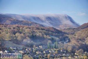 Cader Idris in Low Cloud