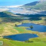 Cregennen Lakes from Tyrau Mawr, Cader Idris