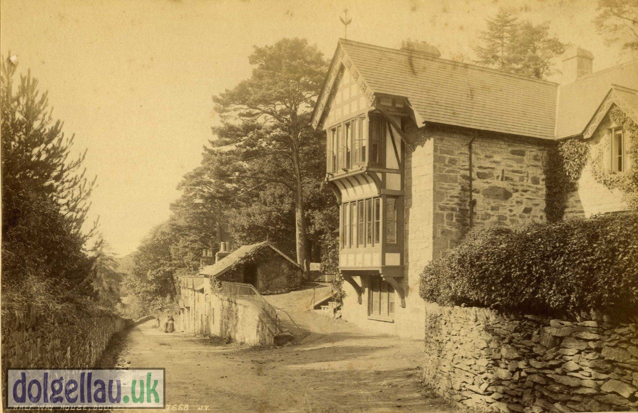 Halfway House, Bontddu - 1870s Albumen Photgraph