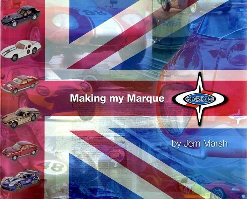 Jem Marsh Book - Making My Marque