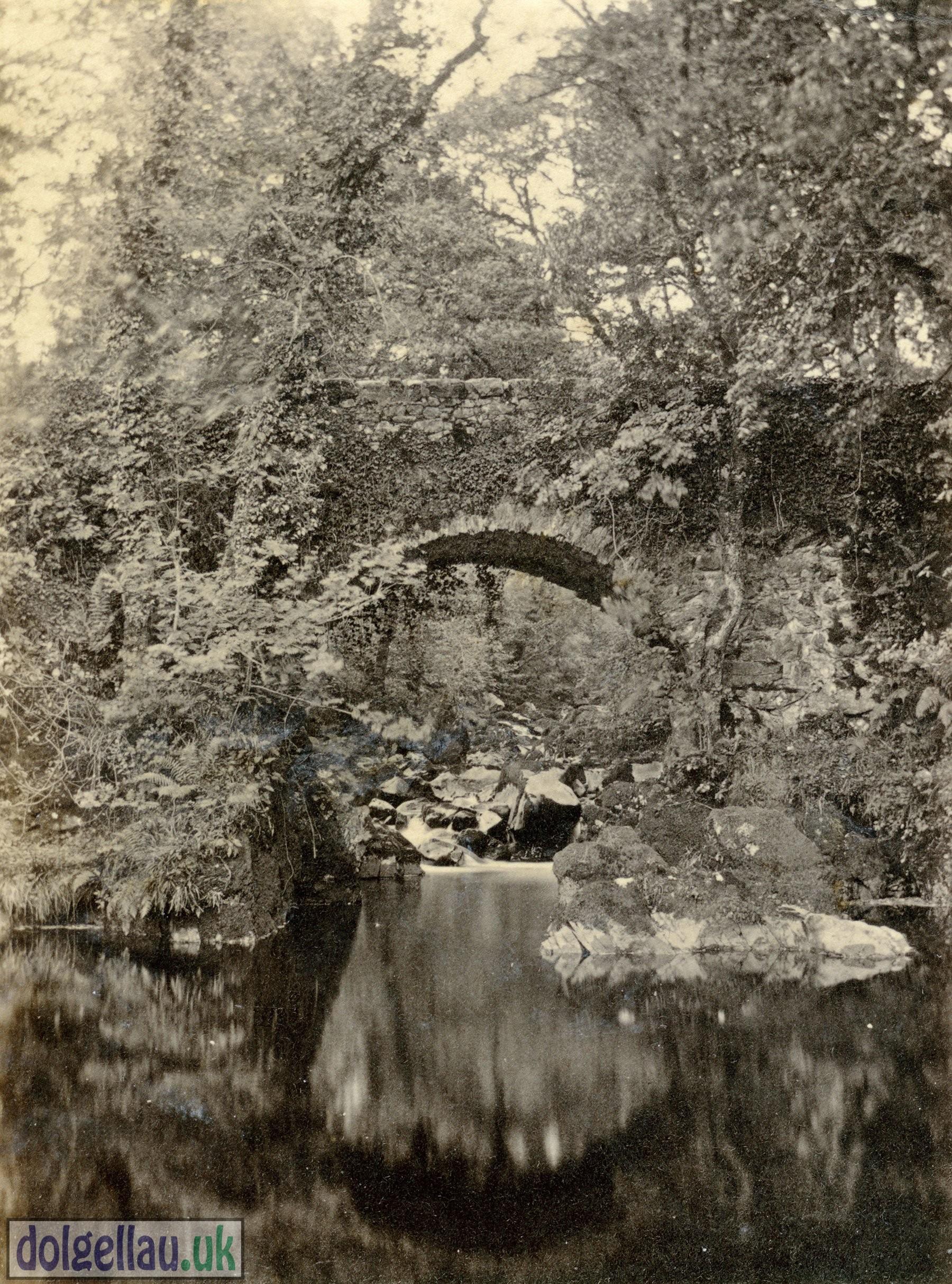 1866 Album Page - Upper Bridge, Torrent Walk. 27th September 1866.