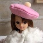 リカちゃん帽子