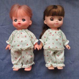 メルちゃんソランちゃんのパジャマ