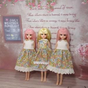 リカちゃんの服型紙