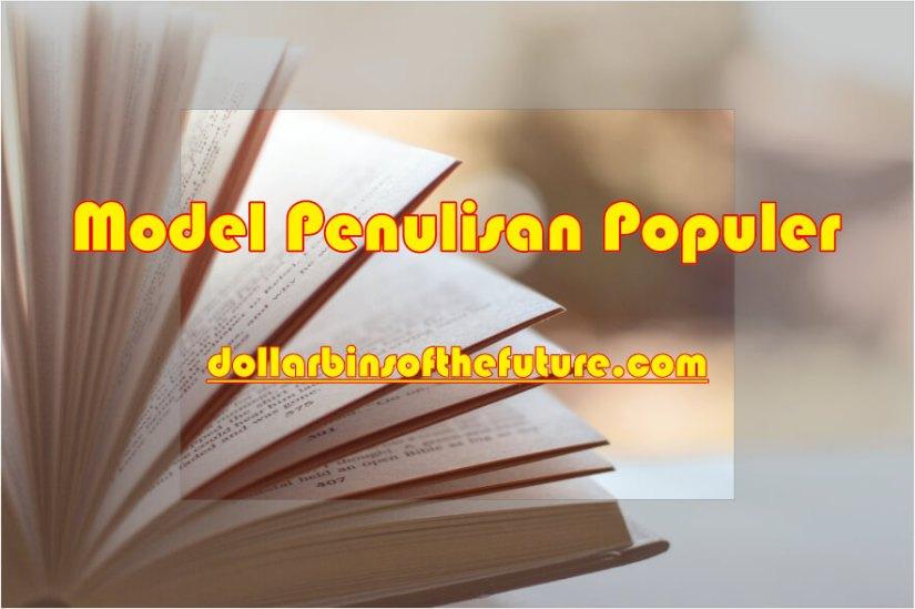 Contoh Artikel Ilmiah Model Penulisan Populer