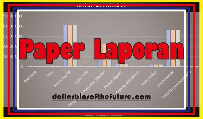 contoh paper Laporan