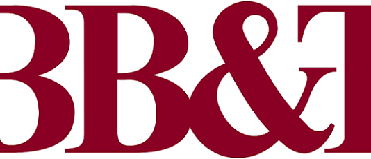the BB&T Mortgage logo written with thick red letters on a white background