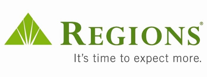 the Regions Mortgage logo and motto
