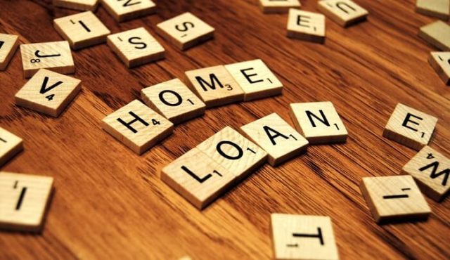 home loan words made out of scrabble letters
