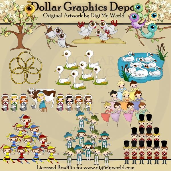 christmas clip art dollar graphics
