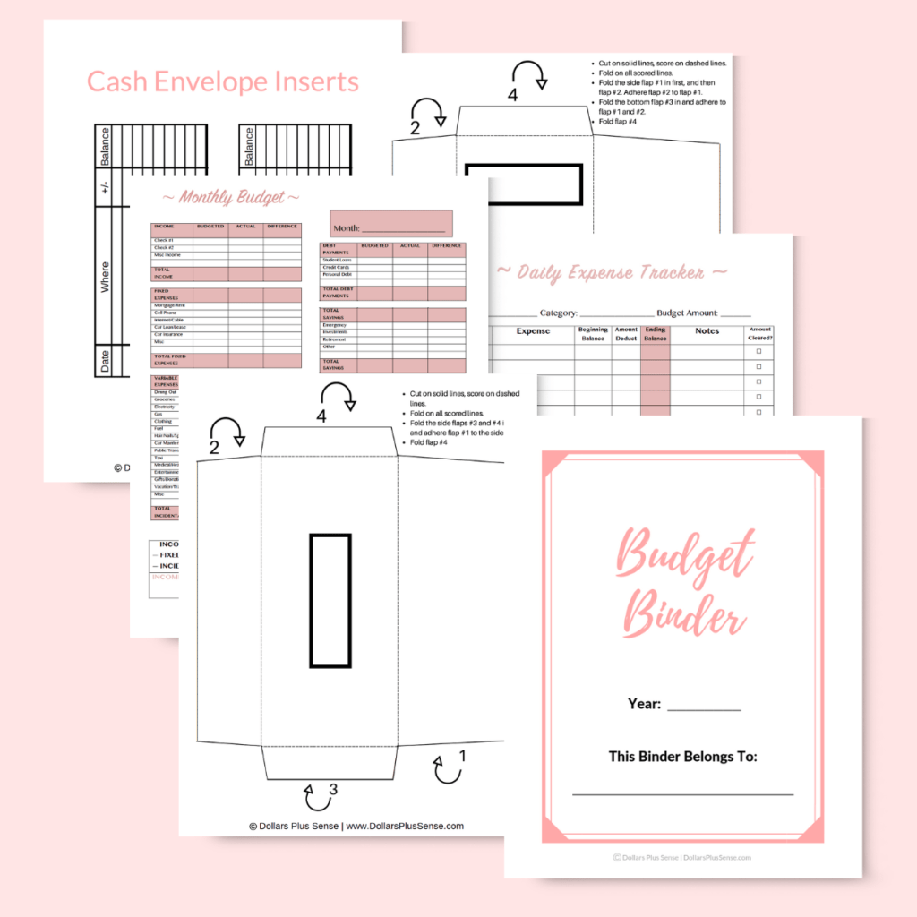 How To Make A Budget For Beginners Worksheet
