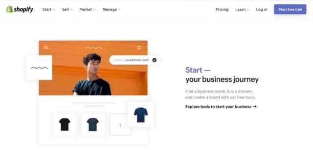 how to create an online shop with shopify