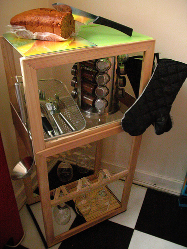 kitchen caddy gifts build a dollar store crafts craftster user hatch handicrafts built this cool using picture frames and canvases she got at the note some of features